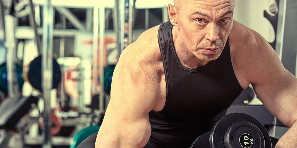 ganar masa muscular después de los 50 años